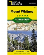 Mount Whitney | National Geographic Trails Illustrated Topographic Map