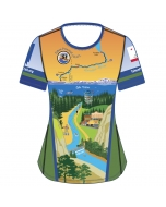 Tahoe Pyramid Trail Women's Hiking and Running Shirt