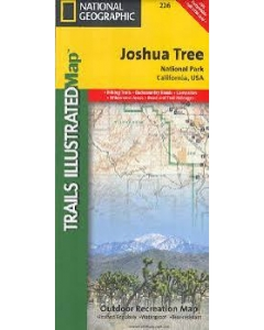 Joshua Tree National Geographic Trails Illustrated Topographic Map