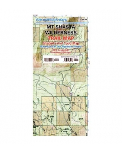 Mount Shasta Wilderness | Tom Harrison Trail Map