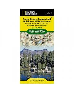 National Geographic: Carson-Iceberg, Emigrant & Mokelumne Wilderness