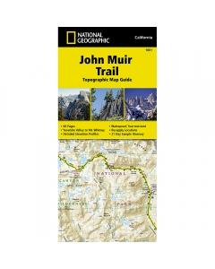 National Geographic: John Muir Trail Map