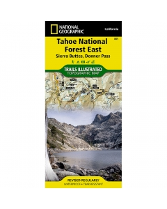 National Geographic: Tahoe National Forest East Map