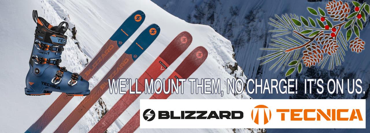 Free Ski Mounting