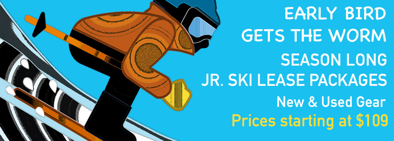 JUNIOR SKI LEASE NOW AVAILABLE ONLINE