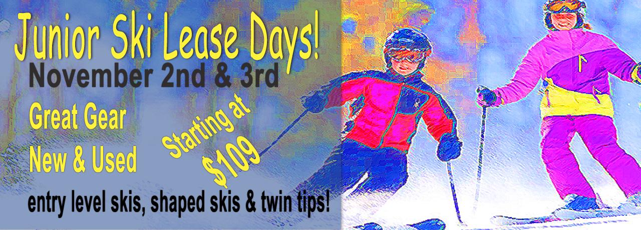 Junior Ski Lease Days