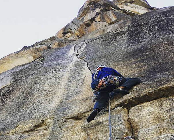 Fall rock climbing, some of the best climbing