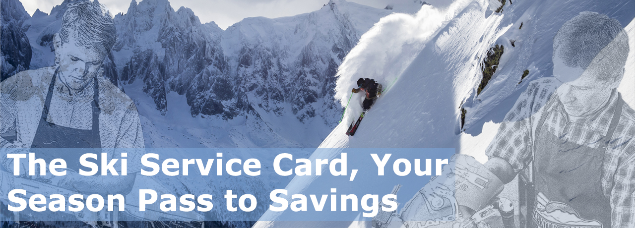 Ski Service Cards on Sale Now!
