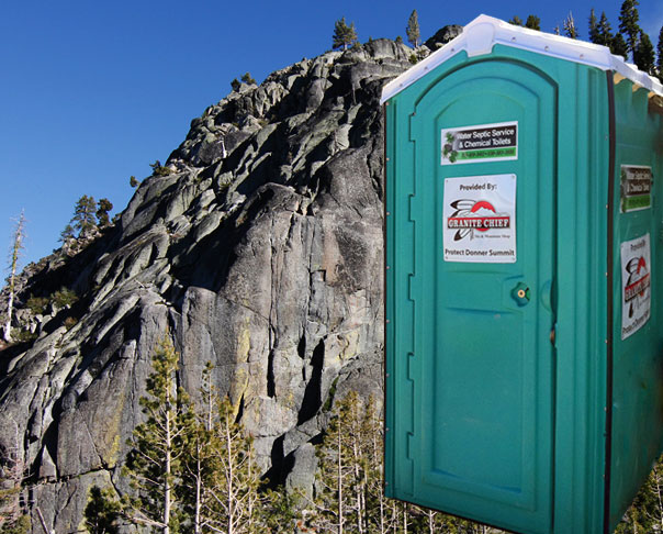 Donner Summit Outhouse
