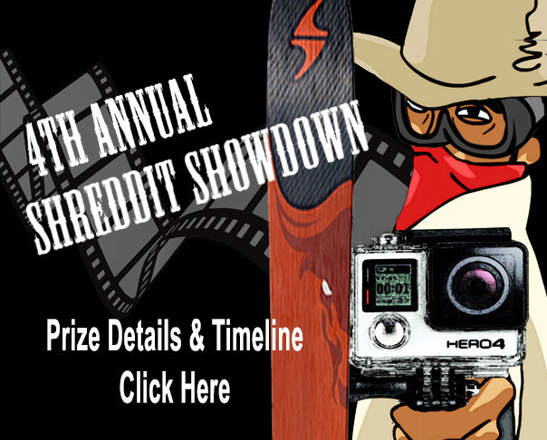 4th Annual Shreddit Showdown Ski Movie Contest