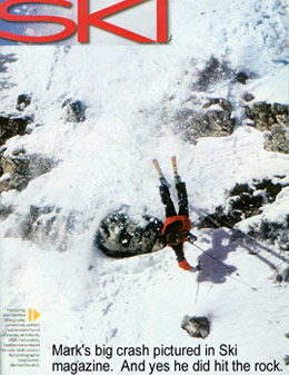 Mark Featherstone's Ski Magazine crash, in 2004.