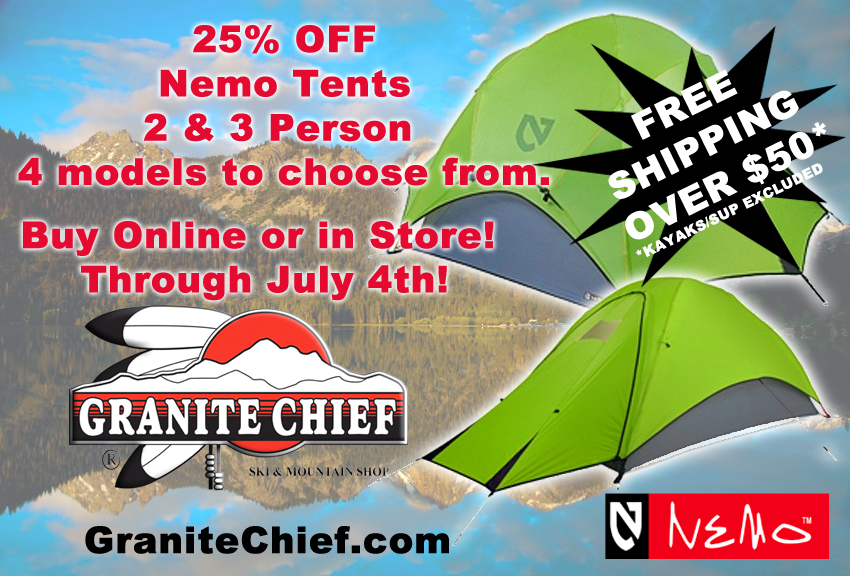 4th of July Nemo Tent Sale | Get Yours Today!!