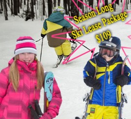 Junior Season Long Ski Lease...the BEST DEAL IN THE STATE!