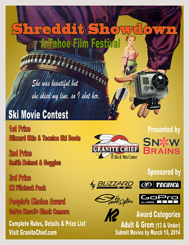 Shreddit ShowDown Ski Movie Contest
