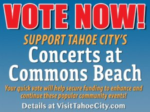 Tahoe City's Concerts at Commons Beach