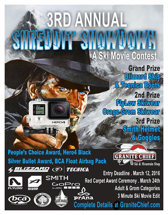 3rd Annual Shreddit Showdown