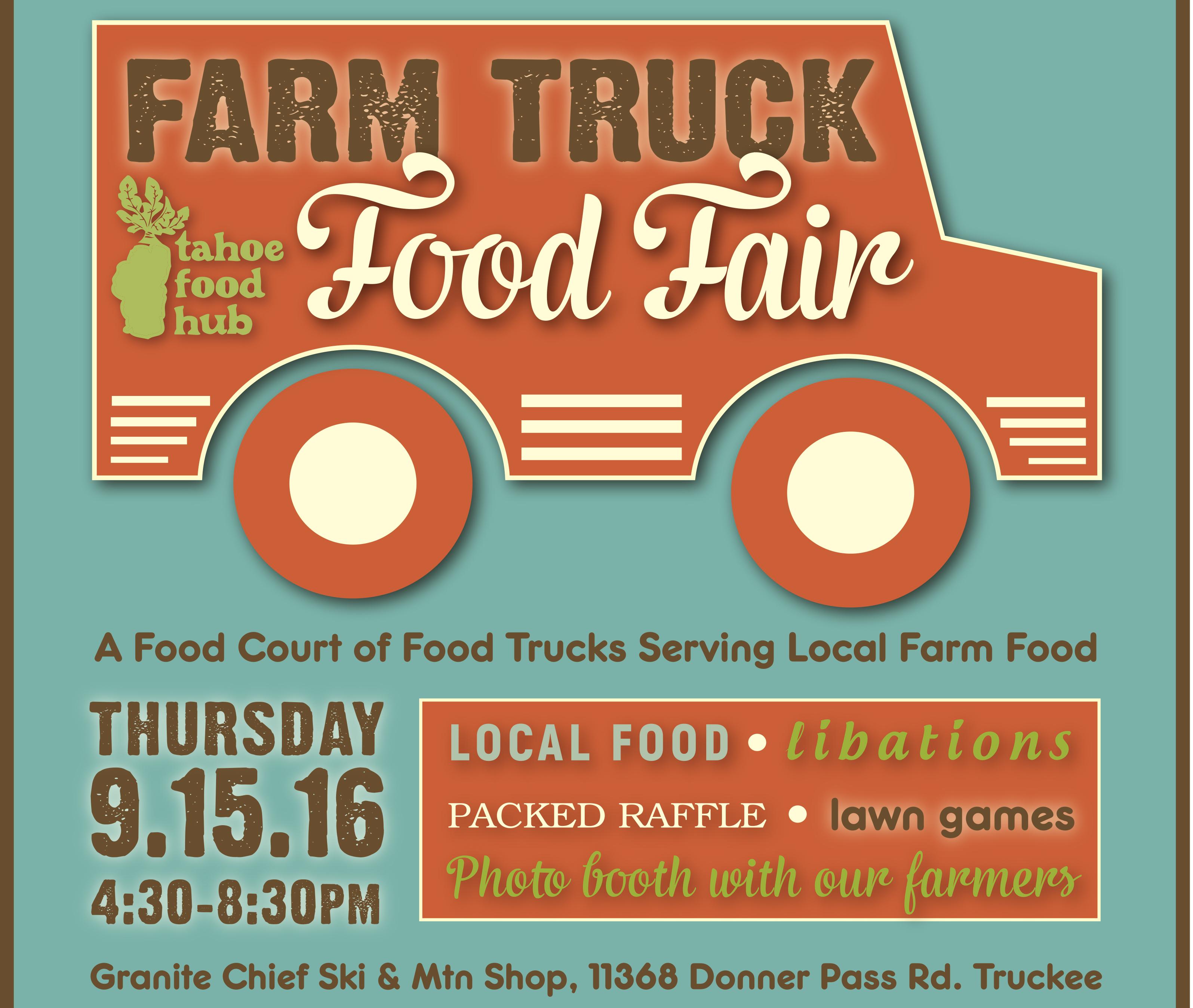 Farm Truck Food Fair | A Fundraiser for the Tahoe Food Hub