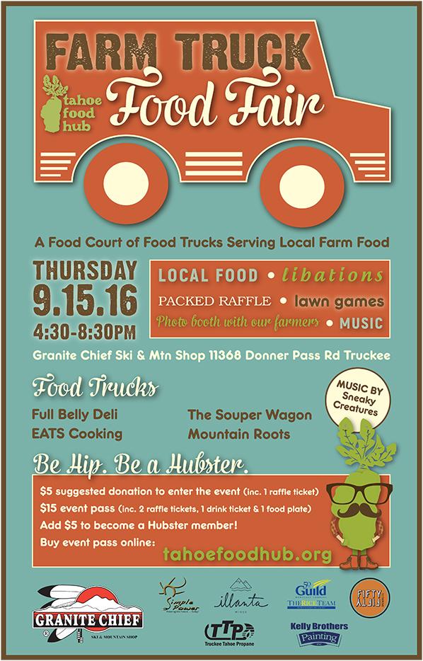 Farm Truck Food Fair | Food Hub Fundraiser