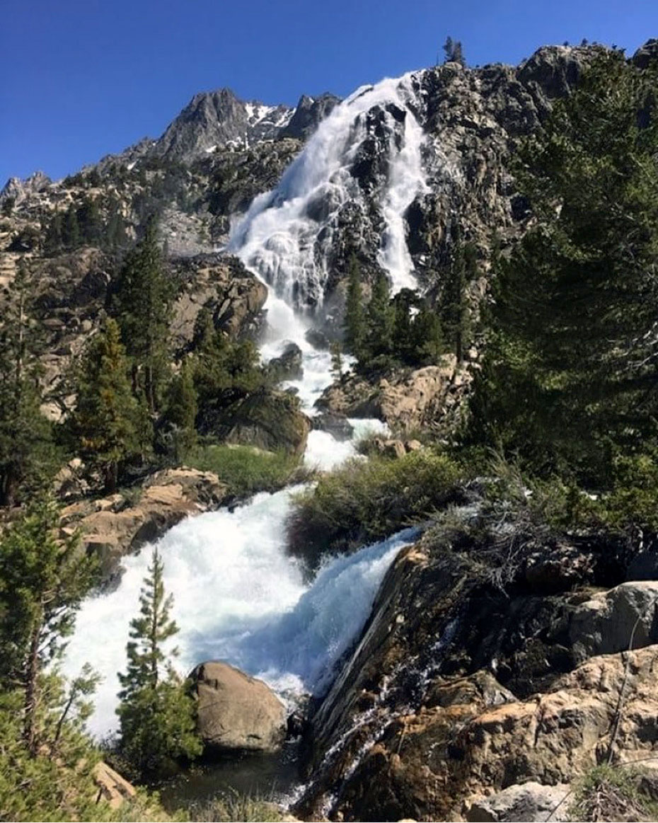 Pacific Crest Trail Thru-Hikers Battle Snow & Water