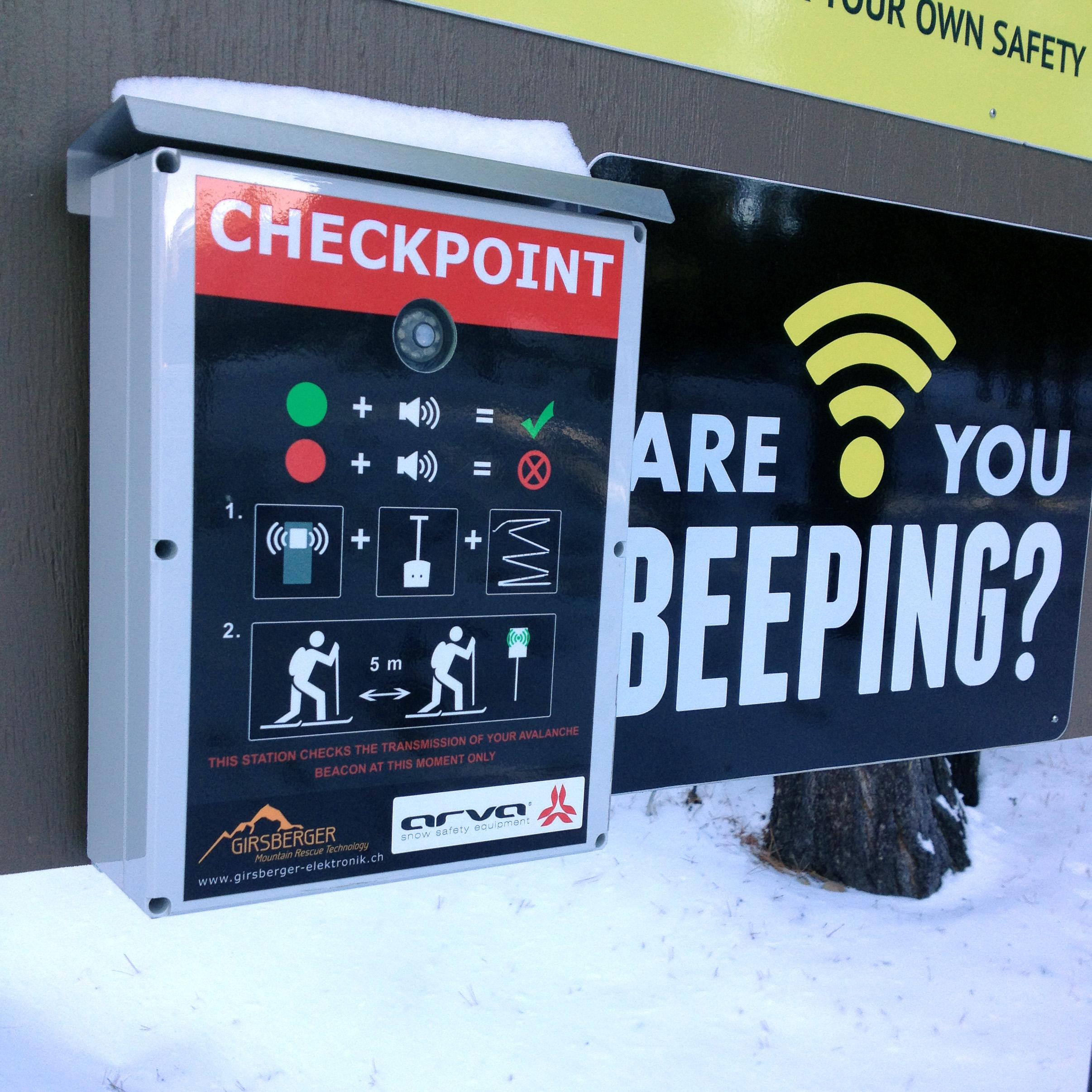 Sierra Avalanche Center Arva Beacon Checker