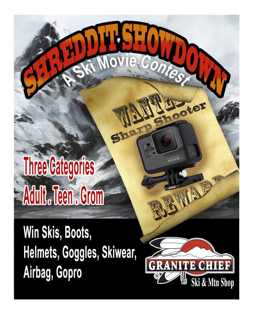Granite Chief's 5th Annual Shreddit Showdown | Contest Details