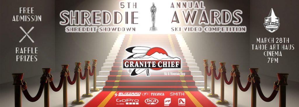 5th Annual Shreddie Awards at Art Haus Cinema