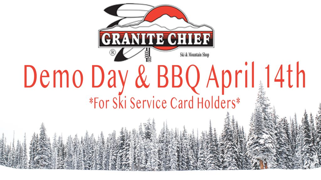 2018 Demo Day & BBQ at Squaw Valley Lodge on April 14th