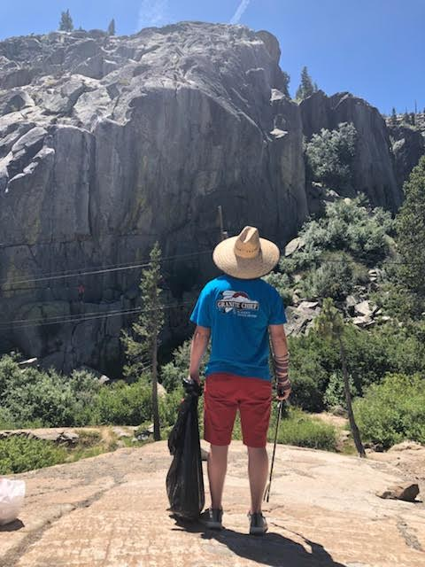 Granite Chief Clean Up Day at the Summit