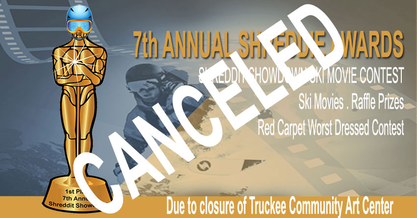 7th Annual SHREDDIE AWARDS NIGHT CANCELED | Contest Still On