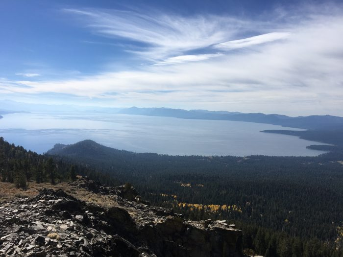 Trail Running In Tahoe