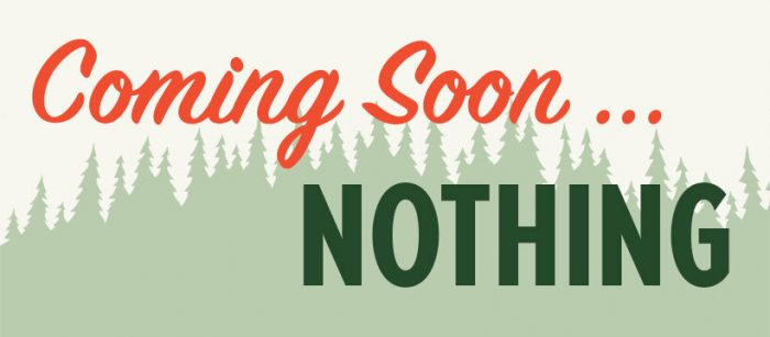 Coming Soon: Nothing! About The TDLT