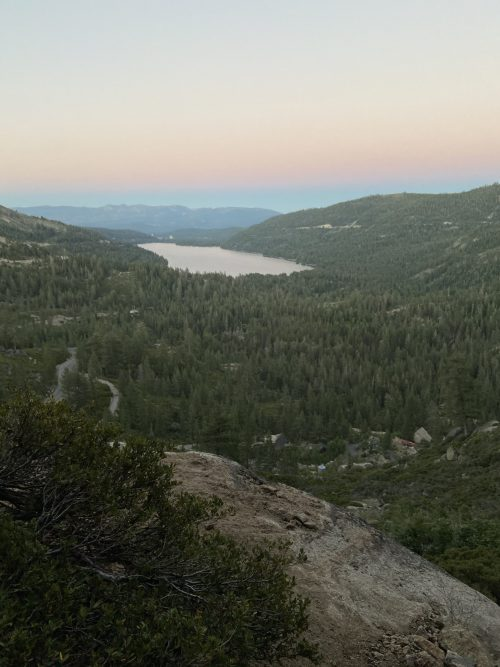 Donner Summit Roadwork