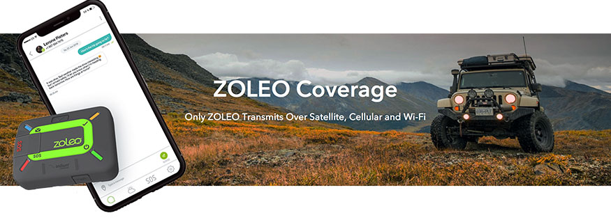 ZOLEO CHECK-IN & SOS DEVICE | Explore with Peace of Mind